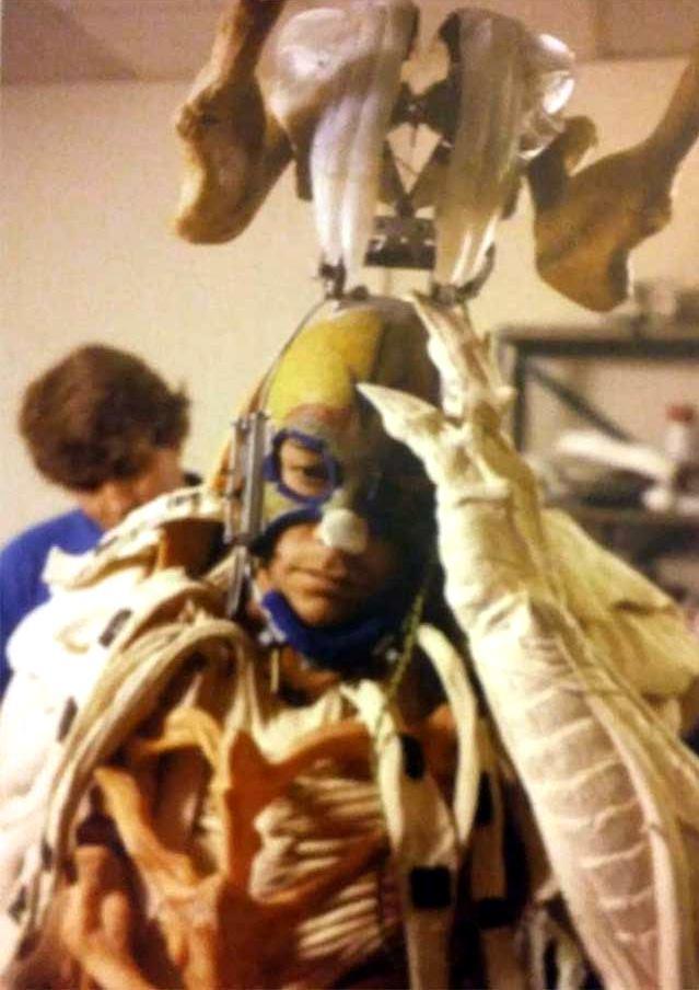 Predator (1987) Rara foto di Jean-Claude Van Damme nel costume non definitivo
