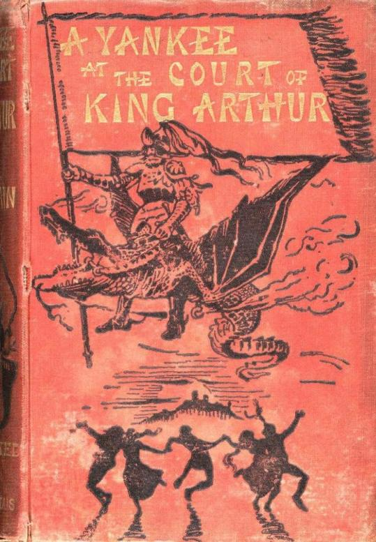 """Mark Twain, padre della letteratura statunitense, scrive nel 1889 un curioso e divertente romanzo: """"Un americano alla corte di re Artù"""""""