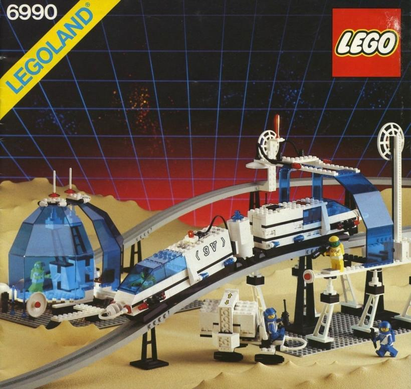 LEGO 6990 Monorotaia Spazio (Space Monorail Transport System) - 1987