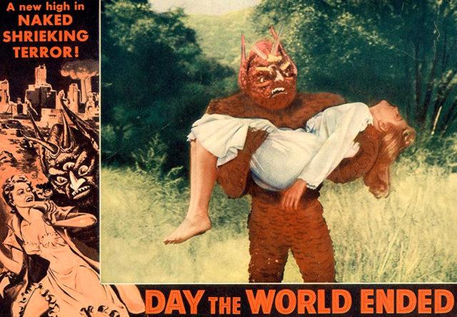 Il Mostro del Pianeta Perduto (Day the World Ended) 1955 Roger corman