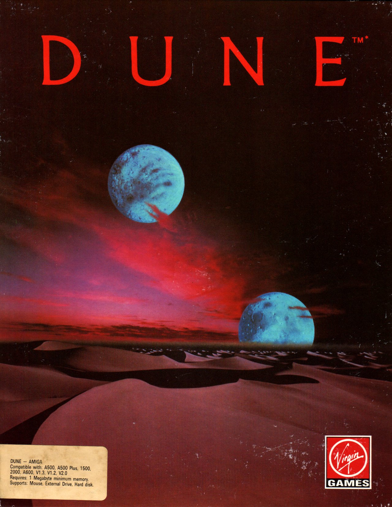 videogioco dune anni 90-