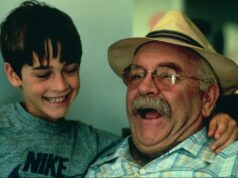 Wilford Brimley and Barret Oliver in Cocoon (1985)