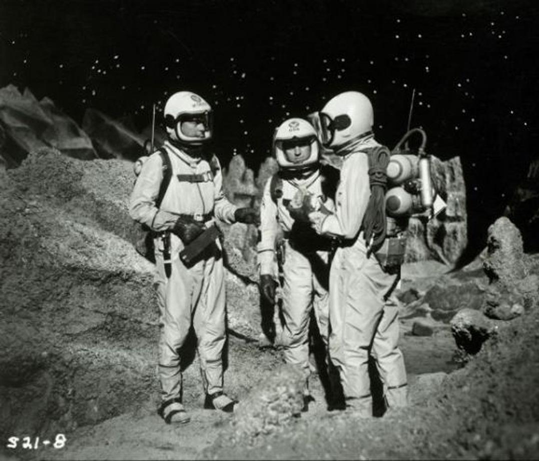 Men Into Space (1959–1960) serie TV-l
