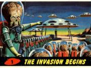 Mars Attacks (1962): le cards che hanno ispirato Tim Burton
