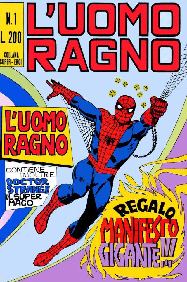 L'Uomo Ragno (Editoriale Corno) numero 1