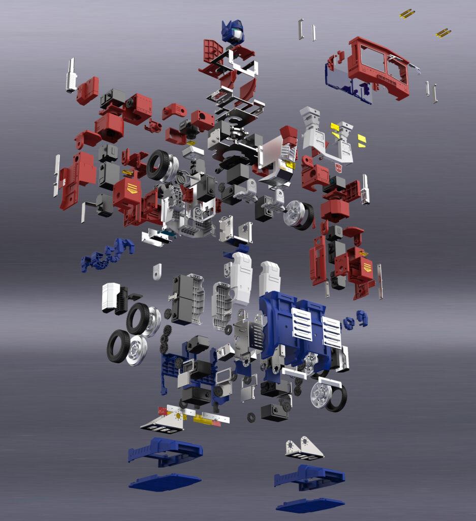 Transformers Optimus Prime auto-trasformante