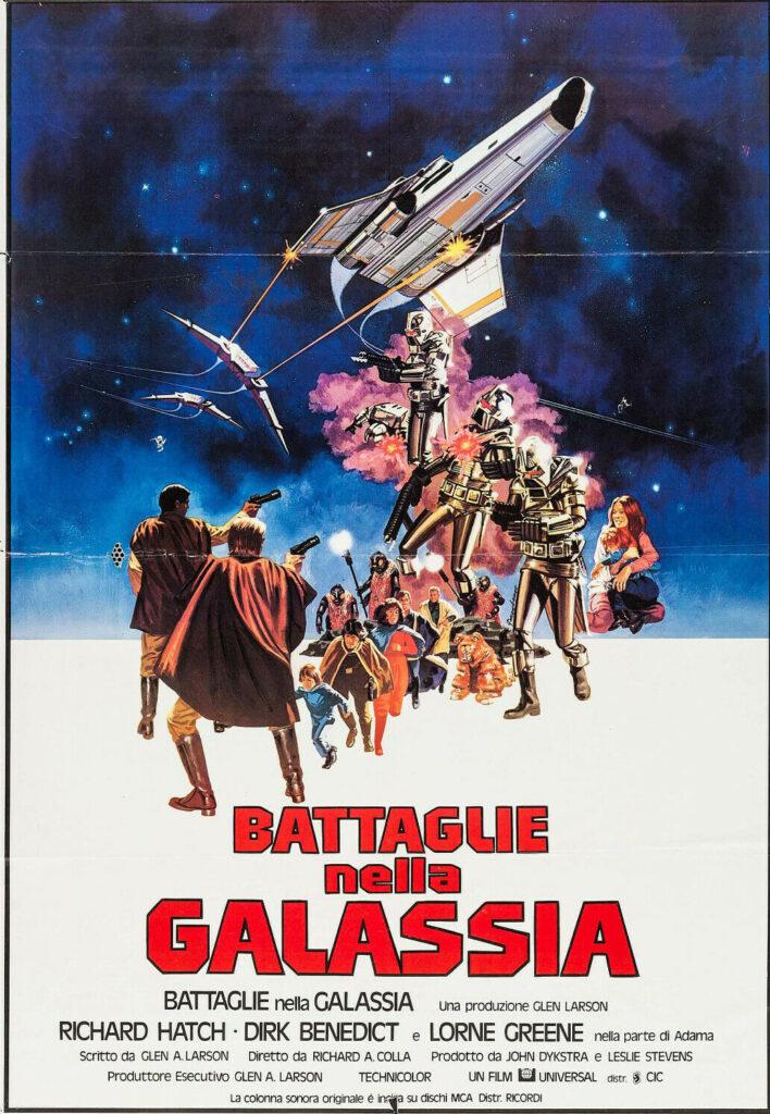 BATTAGLIE NELLA GALASSIA fantascienza di richard a.colla 1978