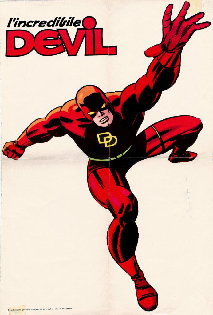 L'incredibile Devil numero 1 Editoriale Corno poster
