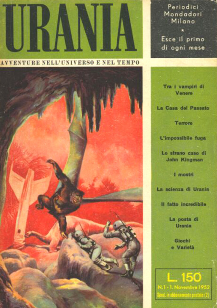 Urania Rivista 1 1952