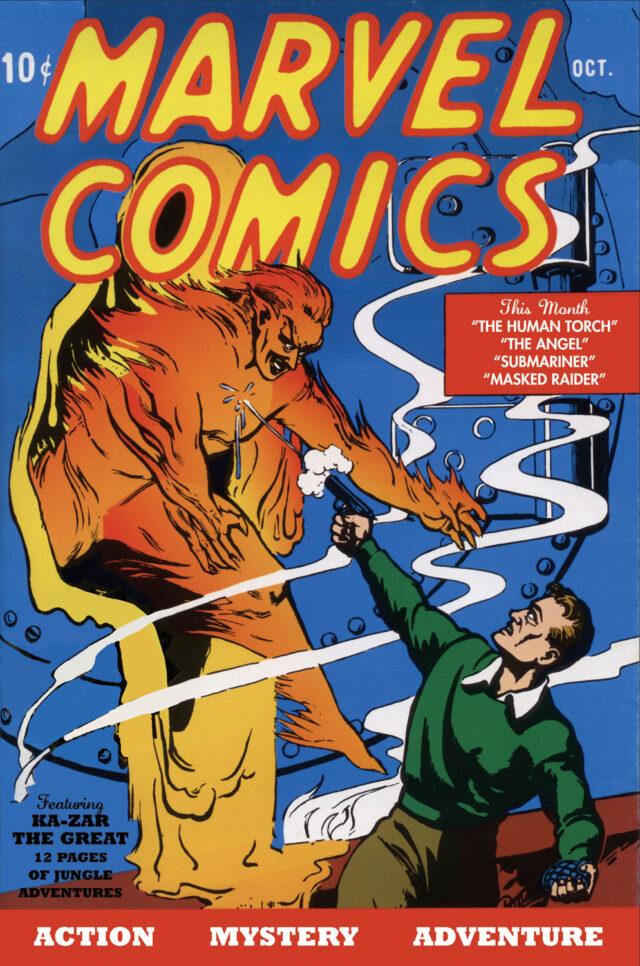 31 agosto 1939 Marvel Comics #1
