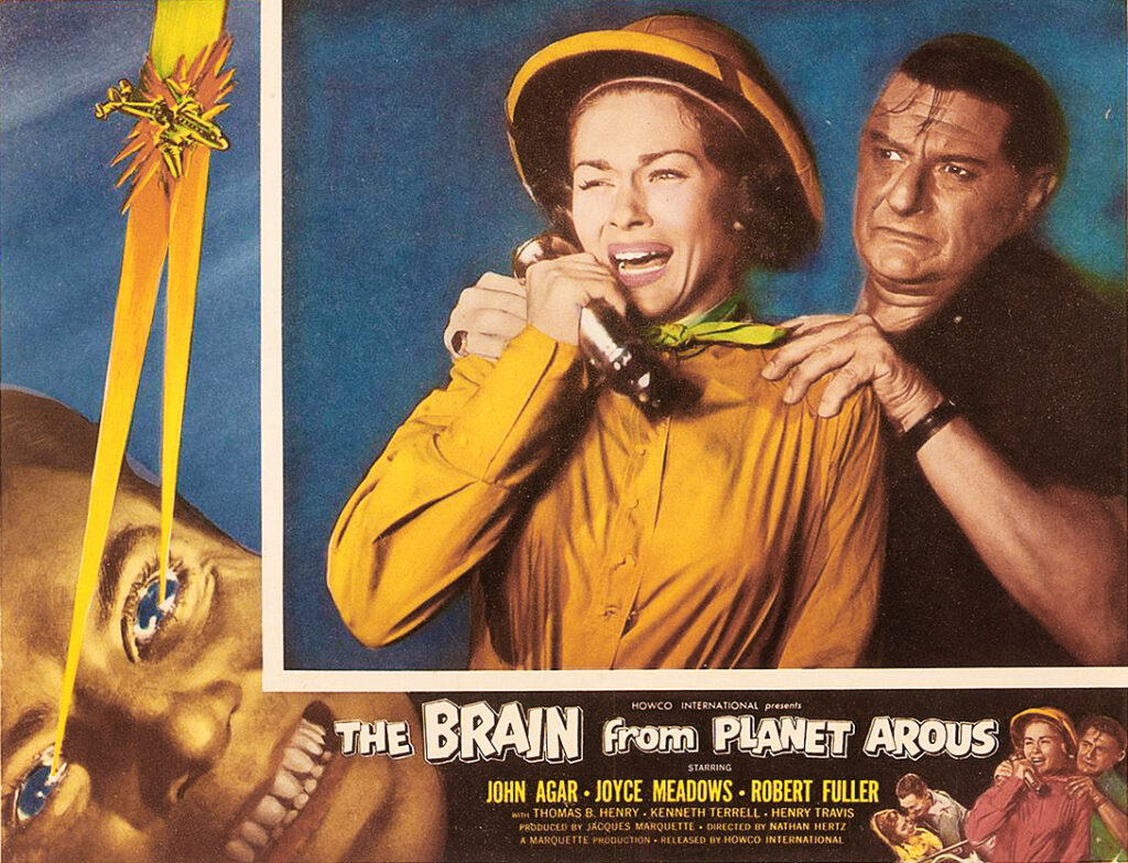 The Brain from Planet Arous 1957